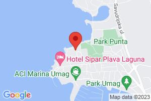 Mapa Hotel Sol Umag**** Umag