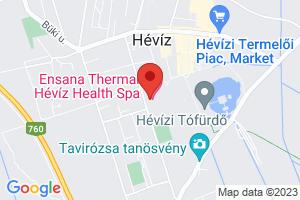 Mapa Thermal Hévíz Ensana Spa Hotel**** Hévíz