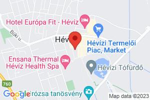 Mapa Hunguest Hotel Panorama*** Hévíz