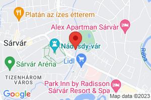 Mapa Thermal Sárvár Ensana Health Spa Hotel**** Sárvár