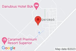 Mapa Hotel Hunguest Répce Gold**** Bükfürdő