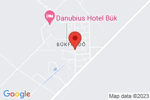 Mapa Hotel Danubius Health Spa Resort Bük**** Bükfürdő