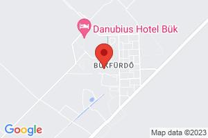 Mapa Hotel Hunguest Répce*** Bükfürdő