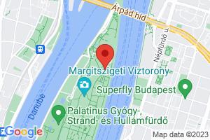 Mapa Thermal Health Spa Hotel Margitsziget**** Budapešť
