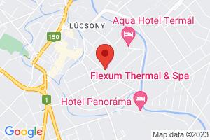 Mapa Thermal Hotel Superior*** Mosonmagyaróvár