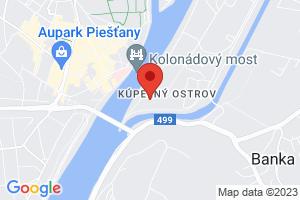 Mapa Kúpeľný Hotel Thermia Palace Ensana Health Spa Hotel***** Piešťany