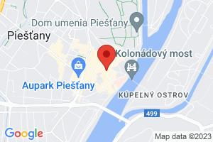 Mapa Smaragd, Šumava Ensana Health Spa Hotel** Piešťany
