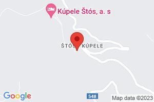 Mapa Dom uzdrowiskowy Hlavna budova - Komporday** Stos