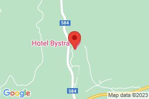 Mapa Hotel Bystrá*** Tále / Bystrá