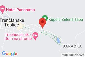Mapa Penzión Baske*** Trenčianske Teplice