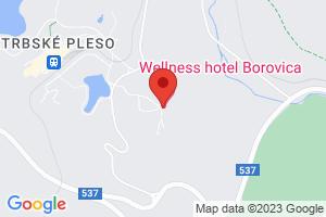 Mapa Wellness Hotel Borovica**** Štrbské Pleso