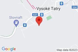 Mapa Apartmány Família Smokovec*** Nový Smokovec