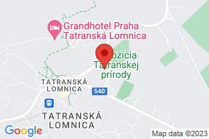 Mapa Hotel *** SOREA TITRIS*** Tatranská Lomnica