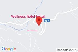 Mapa Hotel Horal*** Velké Karlovice