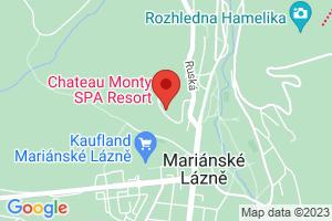Mapa Spa Hotel Děvín*** Mariánske Lázně