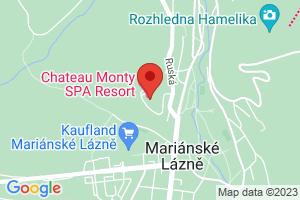 Mapa Hotel Chateau Monty SPA Resort**** Mariánske Lázně