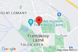 Mapa Hotel Reza**** Františkovy Lázně