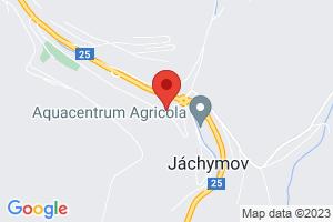 Mapa Hotel Běhounek*** Jáchymov