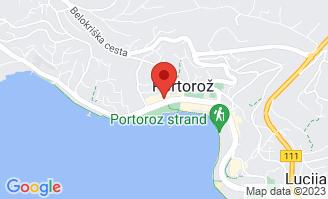 Mapa Mind Hotel Slovenija***** Portorož