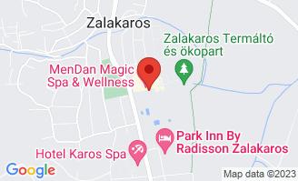 Mapa Hotel MenDan Magic Spa & Wellness Hotel**** Zalakaros