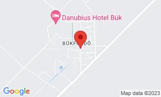 Mapa Hotel Danubius Hotel Bük**** Bükfürdő