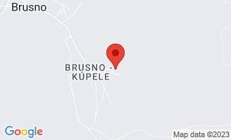Mapa Liečebný dom Poľana**** Brusno